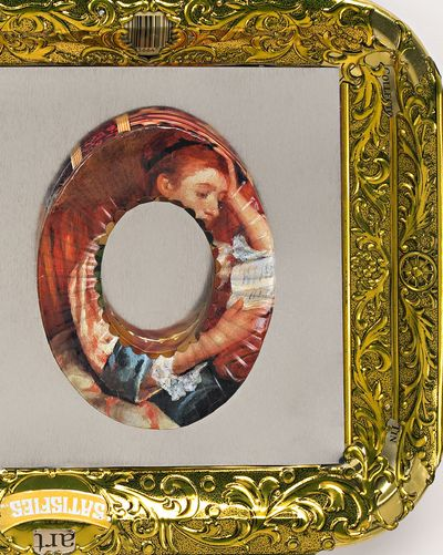 Renoir Art Jewelry Braclets printed with famous paintings as an indication of good taste.c
