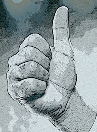 Thumbs up for comments and criticism.