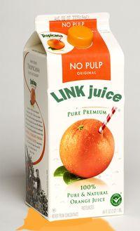 Link Juice leaking juice