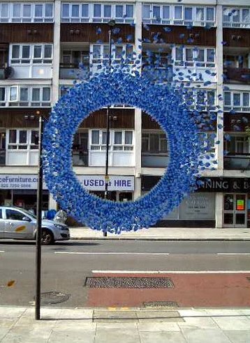 BlueFLOWERwreath