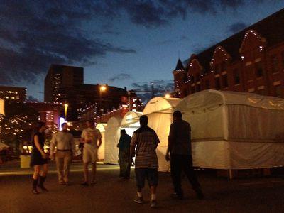 Art fair LATE at NIGHT by Alison Antelman