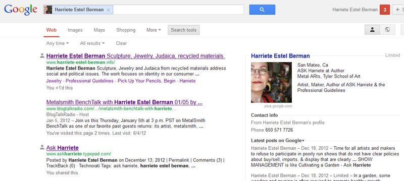 GooglesearchresultsHarriete