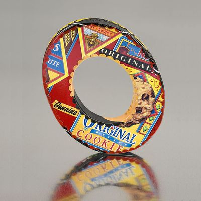 Britto Original Tin Art Jewelry from post consumer recycled materials