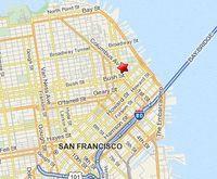 Map San Francisco, CA