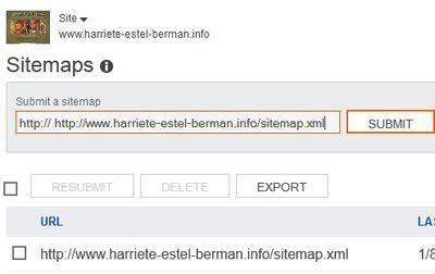 Bing Webmaster Submit Sitemap