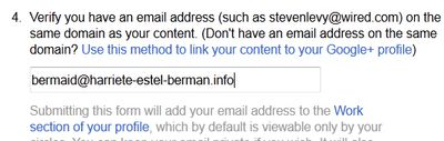 Google rel author bermaid