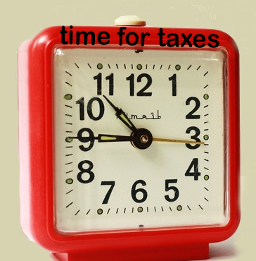 Alarm-clock-red-time-FOR-taxes