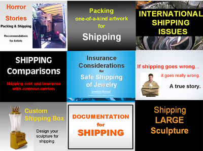 SHIPPING presentations for artists and makers from the SNAG Professional Development Seminar