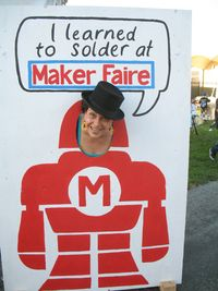 Maker Faire sign