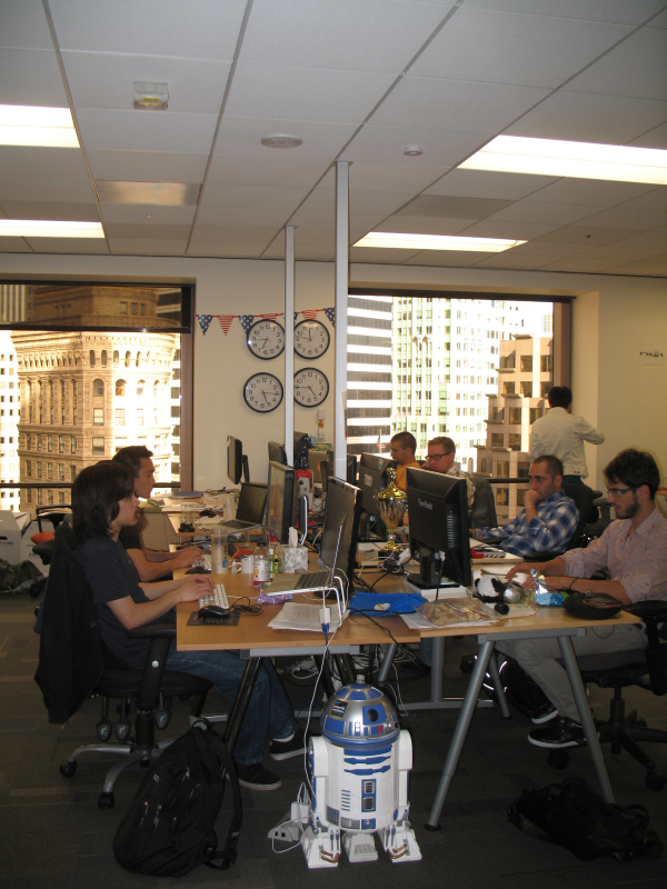 Visiting SlideShare Offices in San Francisco