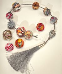 Worry About Worry Beads Coming Undone by Harriete Estel Berman