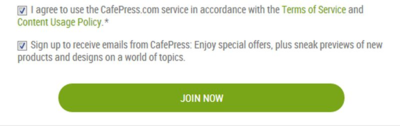 CafepressSignUP
