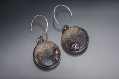 Casey_Sharpe_Sand_Barnacle_BW_Earrings