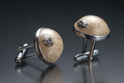 Casey_Sharpe_Sand_Barnacle_Cufflinks