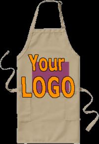 Apron-logo-printed