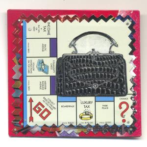 Collect Your Money Pin by Harriete Estel Berman