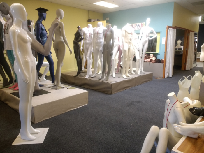 Mannequin Madness in Oakland, CA