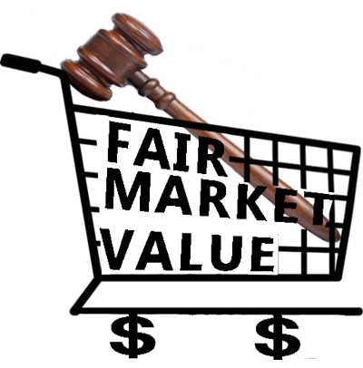 Shopping-cart-Fair-Market-Value-Gavel
