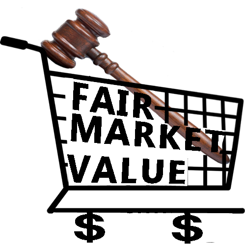Fair Market Value >> Shopping Cart Fair Market Value Gavel