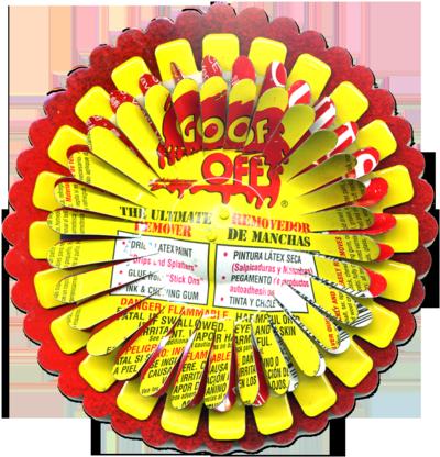 Goof-Off-Flower-Pin-404