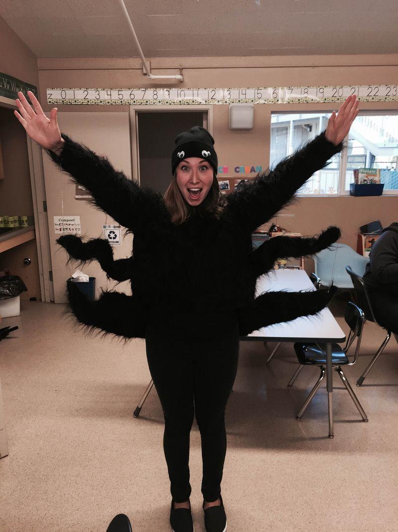 Jen-wearing-spider-costume