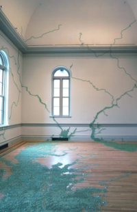 Maya Lin installation at the Renwich Exhibition Wonder