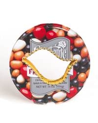 Harriete Berman bracelet from recycled tin cans as a commentary about our consumer