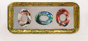 Series of Golden Girl Bracelets from the Californina Collection of Jewelry by Harriete Estel Berman is part of the Duluth, MN Billboard Art Projectlle