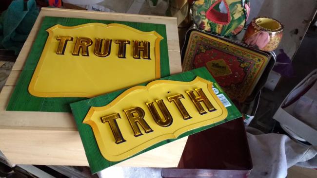 TRUTH an artwork by Harriete Estel Berman