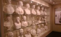 busts at the Luce Art Center at the Smithsonian