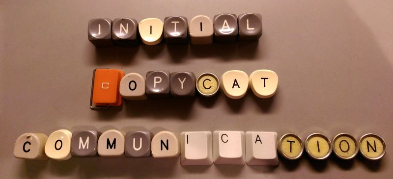 Initial-copycat-communication