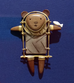 Shaman Bear, 2008; Carolyn Morris Bach