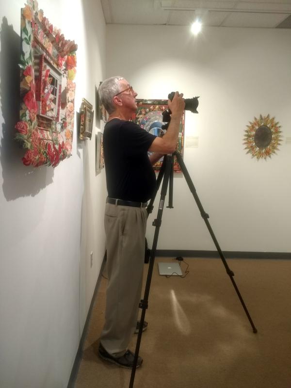 Philip Cohen photographer at the Peninsula Museum of Art