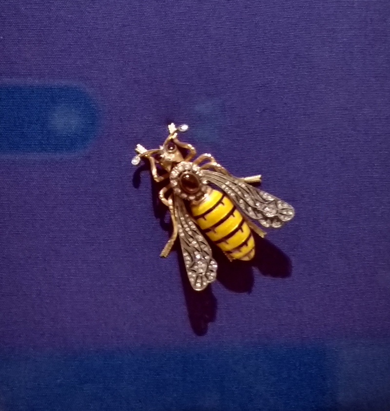 Madeline-Albright-Read-My-Pins-bee