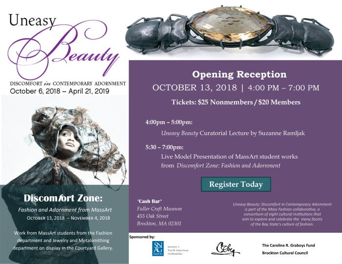 Uneasy Beauty Reception Invitation