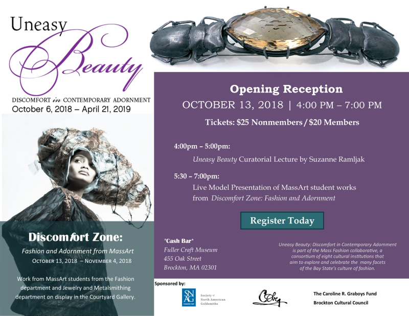 Uneasy Beauty Reception Invitation