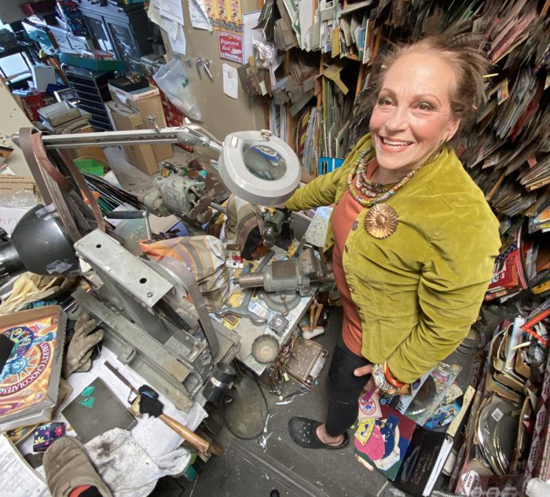 Harriete-mess-in-the-studio