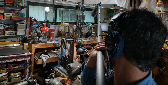 Saturday-am-boom-Harriete-working-at-bench